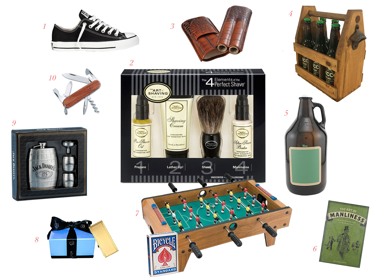 Appy Couple's gift ideas for groomsmen