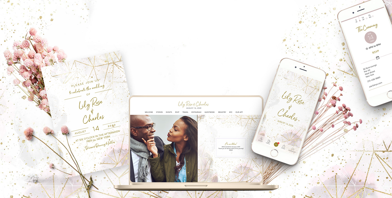Appy Couple - Interactive Wedding Website and App