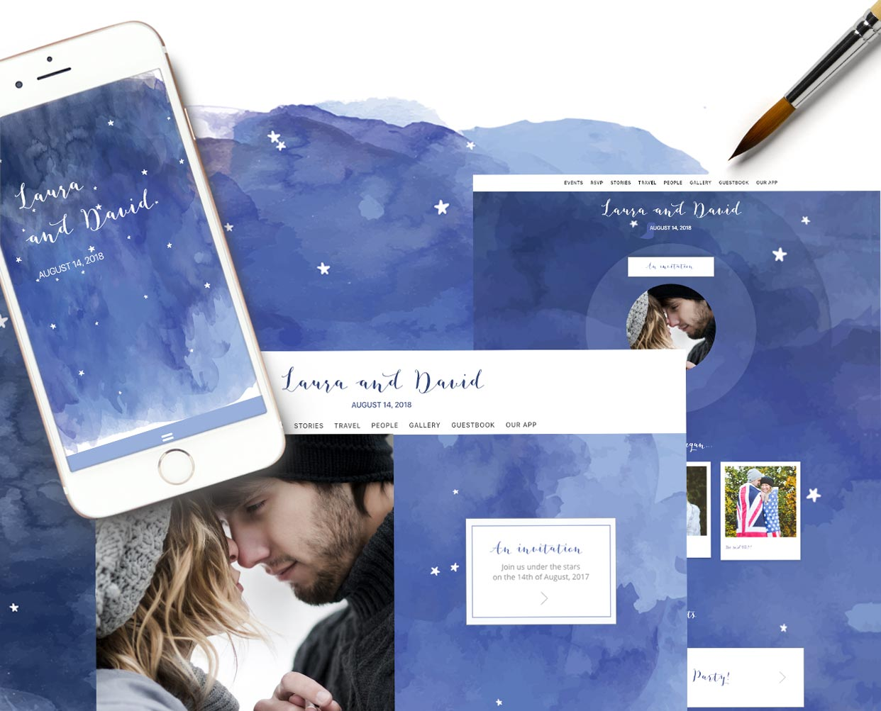 Appy Couple   Appy Couple - Interactive Wedding Website and App