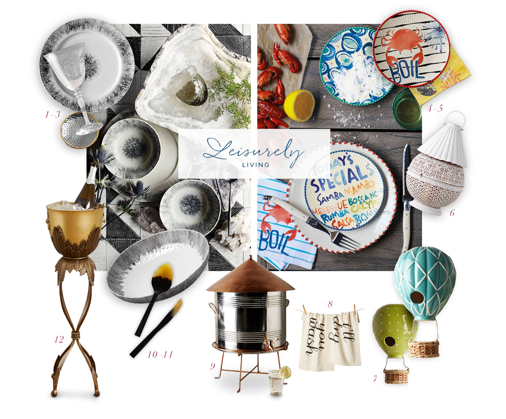 Anthropologie wedding gifts for ocean weddings