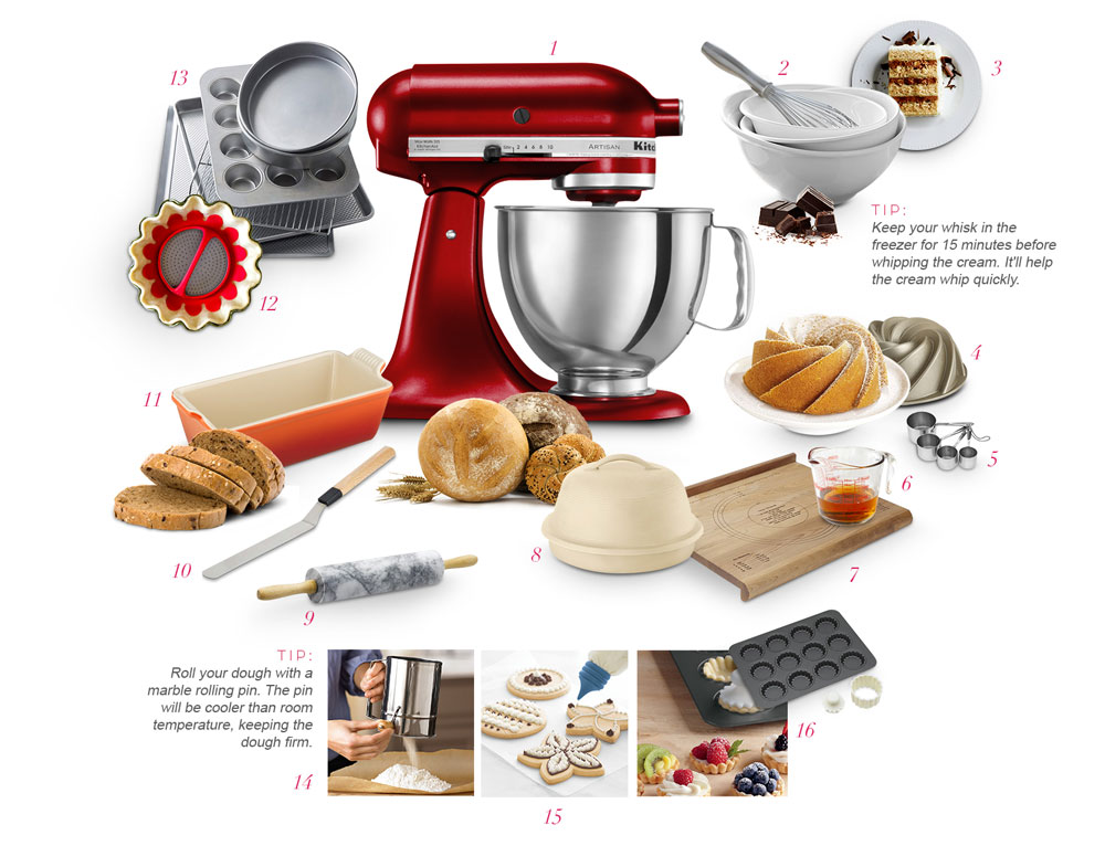 Wedding gifts for the baker in you from Williams-Sonoma