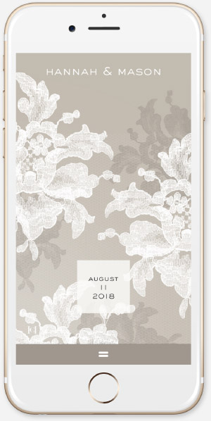 Natural Lace by Carolina Herrera App