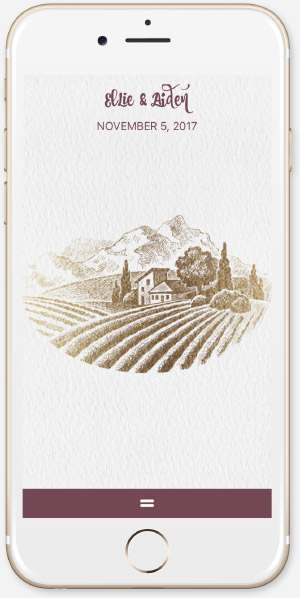 Rustic Vineyard - Gold App