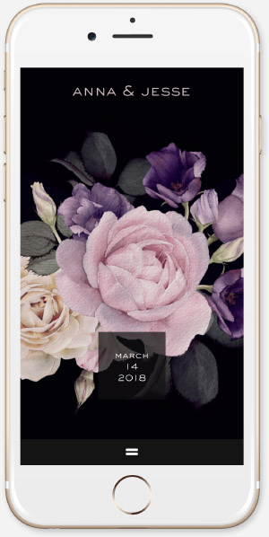 Watercolor Roses App