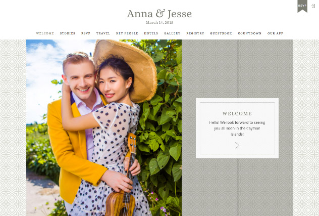 Gramercy Park multi-pages website layout