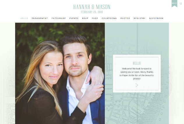 Holy City Love - Charleston multi-pages website layout