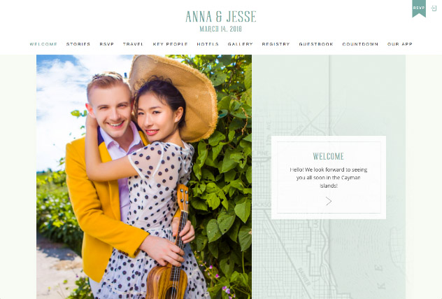 Emerald City Love - Seattle multi-pages website layout
