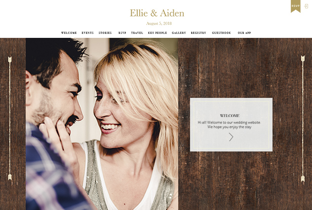 Rustic Barn multi-pages website layout