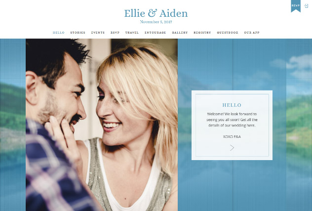 Mountain Love multi-pages website layout