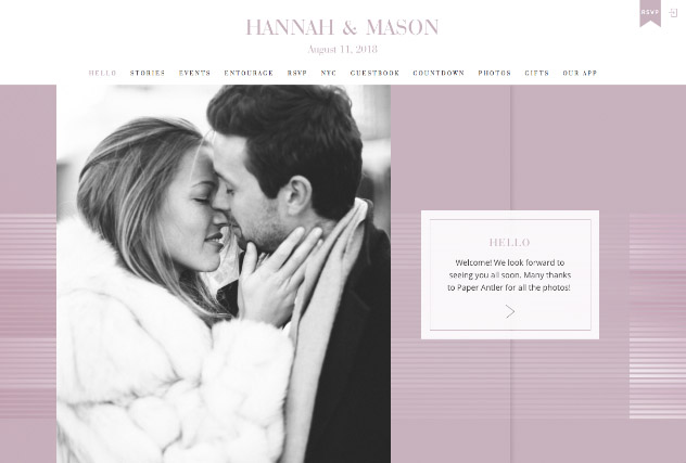 GLAZING multi-pages website layout