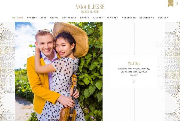 City Chic Frost multi-pages website layout