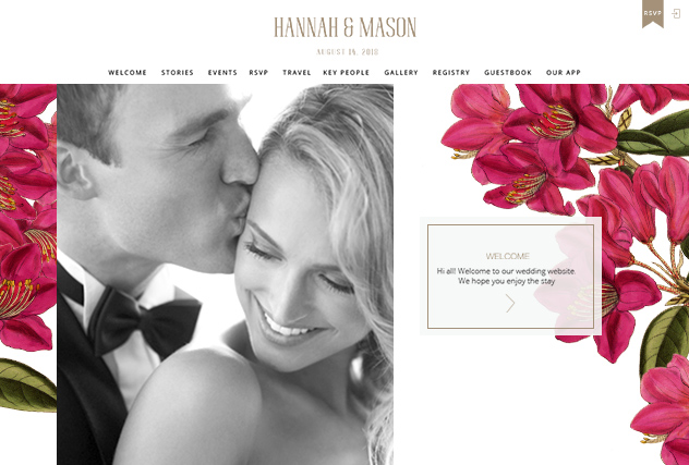 Jessica II multi-pages website layout
