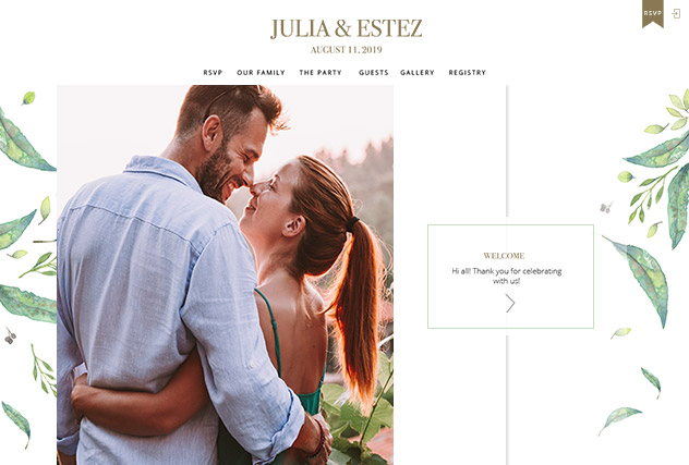Pietre multi-pages website layout