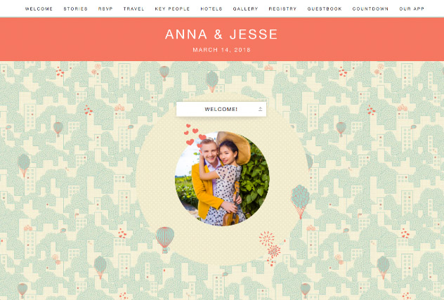 Urban Love by Casa 2 single page website layout